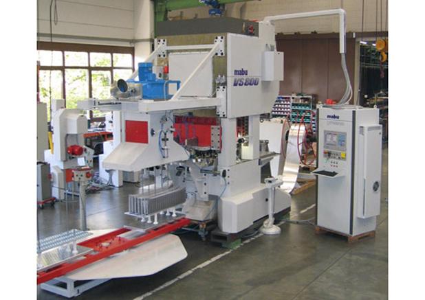 10 Mabu snelstans automaat met afstapelsysteem