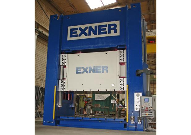 Exner 1000t hydraulische pers