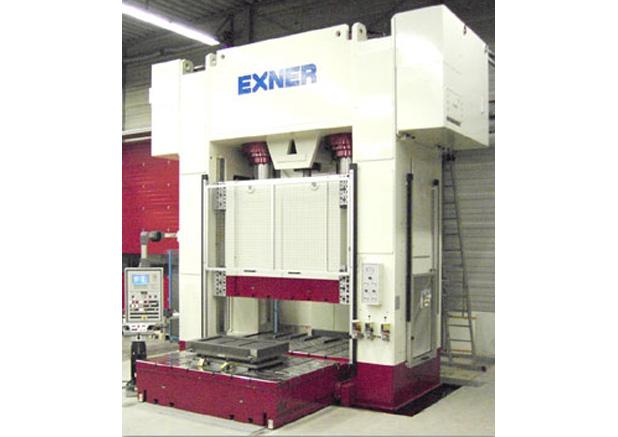 Exner 1200t hydraulische pers