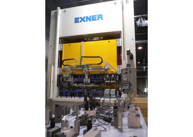 Exner 250t hydraulische pers
