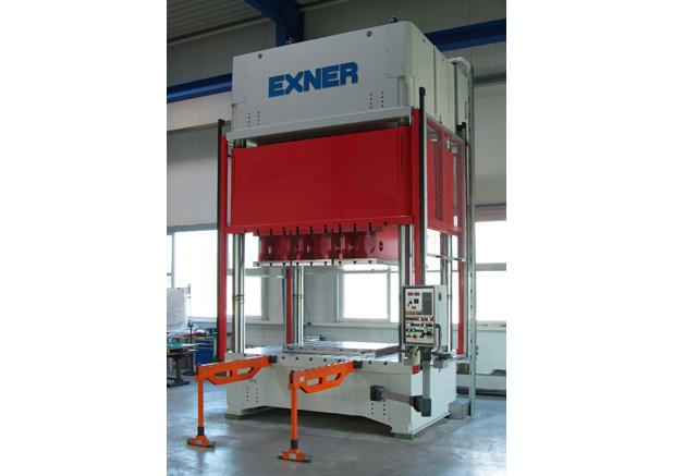 Exner 700t hydraulische pers