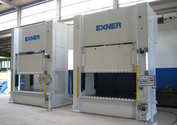 Exner hydraulische portaalpersen