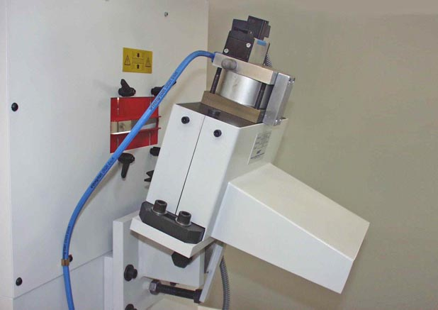 Pneumatische schaar PS 100 met aanbouwhoek